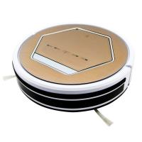 Buy cheap rechargeable home appliances Intelligent Robot Vacuum Cleaner For Low noise from wholesalers