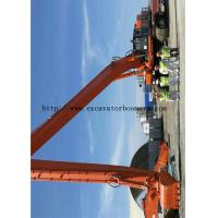 Quality Durable EX1100 Hitachi Excavator Boom Arm 32 Meters To Construct The Sea Port for sale