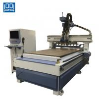 Buy cheap High speed Linear ATC CNC Router with gear rack transmission for kitchen doors from wholesalers