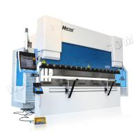 Wholesale HARSLE brand CNC electric hydraulic customized metal sheet press brake with DA66T system from china suppliers