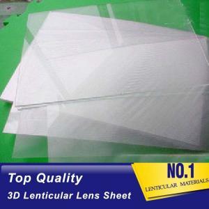 China PLASTICLENTICULAR lenticular sheet philippines 50 lpi 3d lenticular plastic sheet lenses with adhesive backing on sale