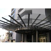 Wholesale Ultra Long Durability Metal Canopies And Awnings Rainwater Self Cleaning Sound Absorbing from china suppliers