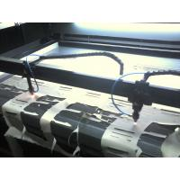 Wholesale Double Heads Fabric Cutting Equipment  , Laser Cutting Machine For Textile & Garment from china suppliers