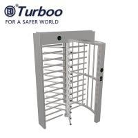 Wholesale Stainless Steel Full Height Gate 24V Security Full Height Turnstile Gate Pedestrian Turnstile from china suppliers