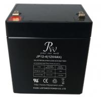 China High Reliability 12v 4ah Lead Acid Battery , SLA Rechargeable Battery For UPS on sale