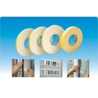 China Door Window Sealing Self-Adhesive Tapes Single Sided Foam Tapes White on sale