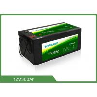 Buy cheap High Security Bluetooth Lithium Battery Rechargeable 12V300Ah Lifepo4 Material from wholesalers