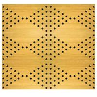 Wholesale Veneer Surface Solid Perforated Wood Acoustic Panels Classroom Wood Wall Paneling Sheets from china suppliers