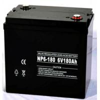 Wholesale Rechargeable Sealed lead acid battery 6V 180Ah free maintenance battery for UPS , Inverter , telecom from china suppliers