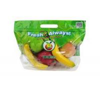 Buy cheap Eco Reusable Clear fresh fruit packing bag with zipper and breath hole/ Fruit from wholesalers