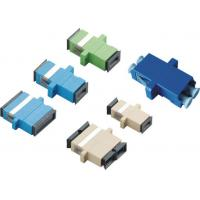 Wholesale SC APC Fiber Optic Adapter Simplex Adapter Duplex Adapter Optical adapter Optical cable adapter from china suppliers