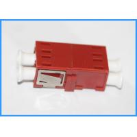Wholesale 0.35dB Duplex Fiber Optic LC To LC Connector Multimode Zirconia Sleeve from china suppliers