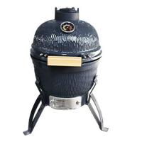 13 inch camping barbecue of ceramic grill , Elegant Outdoor Courtyard Charcoal Kamado Ceramic Grill