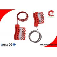 Wholesale Hot Sale ZC-L12 Stainless Steel Adjustable Cable Industry Safety lockout Tagout from china suppliers