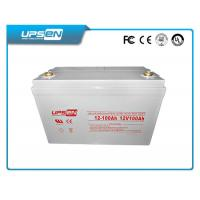 Wholesale 2V 12V Solar AGM Deep Cycle Battery Sealed Lead Acid Battery from china suppliers