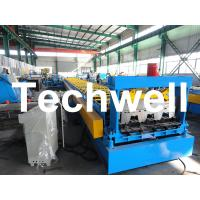 Wholesale High Precision Steel Structure Floor Deck Roll Forming Machine For Metal Decking Sheet from china suppliers