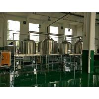 Wholesale 3 Phase 380V Stainless Steel Brewing Equipment Microbrewery Fermenter from china suppliers