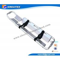 China X - Ray Translucent Plastic Folding Scoop Stretcher for ambulance carrying patients on sale