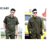Wholesale Comfortable Army Green Military Dress Uniforms , Military Officer Dress Uniforms from china suppliers