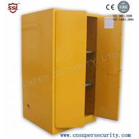 China Zinc Lever Lock Pool Chemical Storage Cabinets With 2 Shelves Fully-welded  Durable and chemical Resistant on sale