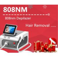 China 1800W Portable 808nm Diode Laser Permanent Hair Removal Machine For Bikini Line , Armpit And Whole Body Hair Removal on sale