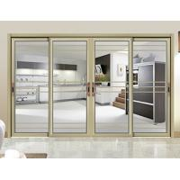 Wholesale Internal Single Glass Sliding Patio Doors / Residential Sliding Glass Doors from china suppliers