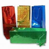 Wholesale Promotional Paper Shopping Bags in Fashionable Design, Eco-friendly from china suppliers