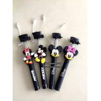 Wholesale 3D Cartoon Extendable Handheld Selfie Stick Monopod with Silicone Handle from china suppliers