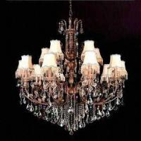 Wholesale Crystal Chandelier with Lights, Measures 1,350 x 1,300mm from china suppliers