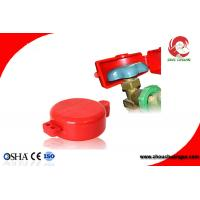 Wholesale Safety Valve Pneumatic Lockout Polystyrene Plastic Cylinder Tank Lockout from china suppliers