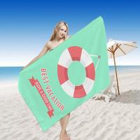 Wholesale Digital Printed Quick Dry Beach Towel , Travel Beach Towel Promotional Large Thick from china suppliers