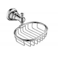 Wholesale Chrome Bathroom Accessory Shower Baskets And Shelves Mounting Hardware Included from china suppliers