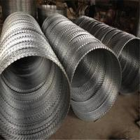 Wholesale Hot Dipped Galvanized Razor Wire Mesh Fence 12*14 Gauge Free Sample from china suppliers