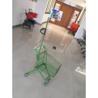 Wholesale Carbon Steel Play Kids Shopping Carts Flag Logo Pole 465 X 330 X 686mm For Children from china suppliers