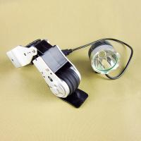 Silver Aluminium Chargeable Dynamo Bicycle Light Set , LED ...