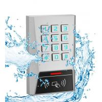 Wholesale AK1 Metal Rfid Door Access Control 125kHz Proximity Card Password Keypad One Relay from china suppliers