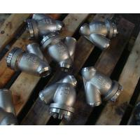 Wholesale ASME B16.5 ASME B16.34 Y Pattern Strainer 16 Inch CF3 BODY SCREEN SS316 from china suppliers