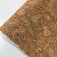 Wholesale 0.4-1.2MM Thickness Cork Leather Fabric Natrual Sound Insulating Dirt Repellent from china suppliers