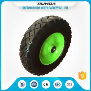 Heavy Duty Trolley Pneumatic Wheels Ubber Casing Ball Bearing 150-300kg Loading