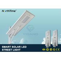 Wholesale PIR Motion Sensor Street Lights With Solar Panel For Parking Lot 7500 - 8000LM from china suppliers
