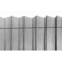 Wholesale 17*15 Grey Color Mesh Polyester Pleated Mesh For Sliding Doors from china suppliers