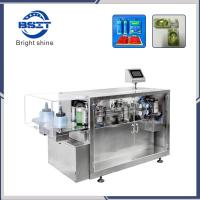 China Fully Automatic Plastic Ampoule E-liquids  Forming Filling Sealing Packaging Machine with CE on sale