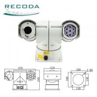 China Police Car PTZ Camera Night Vision 18X Zoom 360 Degree Rotate IR 720P 12 Months Warranty on sale