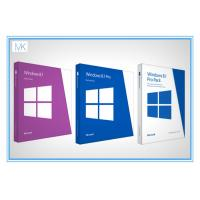 Wholesale Original Windows 8.1 64 Bit Product Key Oem Package With DVD Key Card from china suppliers
