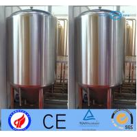 500L Stainless Steel Beer Making Machine , Fermentation Vessel With Jacket
