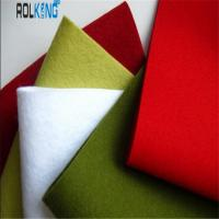Wholesale Custom Colored 100% Wool Felt, 3mm Thick Woolen Felt Fabric from china suppliers