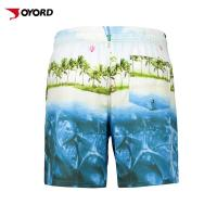 Wholesale Pocket Design Custom Beach Shorts , Beach Board Shorts Water Resistant from china suppliers