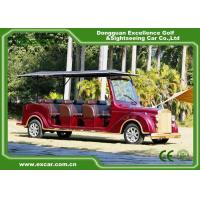 Wholesale Luxurious Red G1S8 Electric Classic Cars 4 Row For 8 Passenger from china suppliers