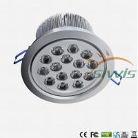 China Edison Cree LED Recessed Downlights 15 Watt , Led Recessed Lighting 3000K on sale