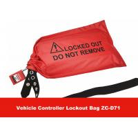 Wholesale Red Fabrics Vehicle Controller Lockout Bags for Controllers and Plugs in Industrial from china suppliers